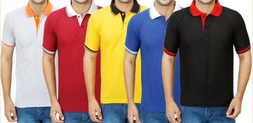 Hot Sale Men's polo T-shirts with custom logo (wholesale)